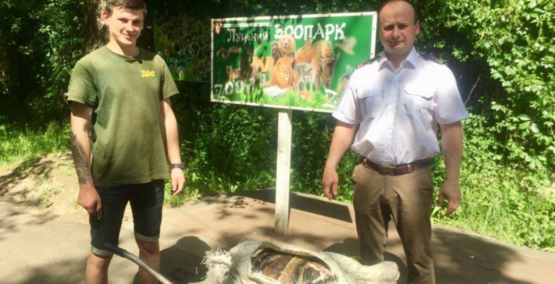 До зоопарку у Луцьку передали 60 кілограмів риби, вилученої у браконьєрів