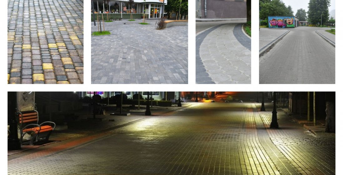 ТОП-6 вулиць Луцька, які засяяли новими кольорами завдяки бруківці LeBruk