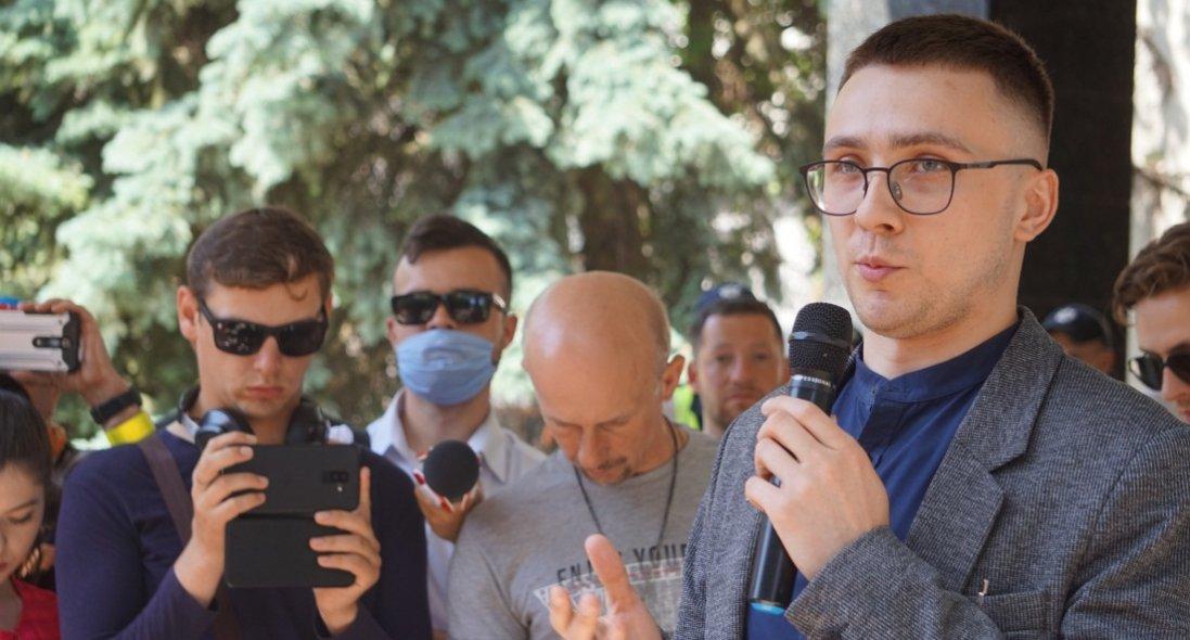 «Справа Стерненка»: міжактивістами йпрацівниками «Шарій.нет» сталася перепалка