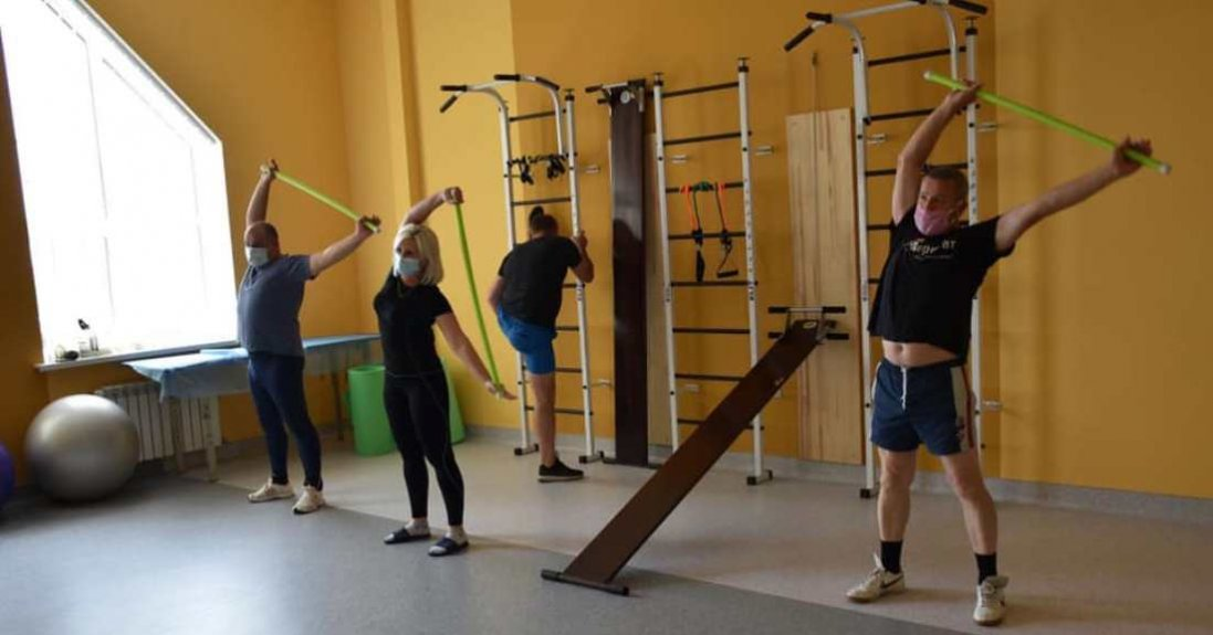 Як у Луцьку працює Центр реабілітації для учасників АТО