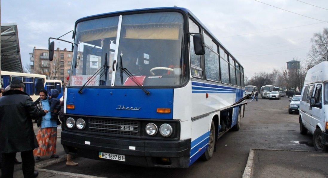 Куди на Волині відновили рух автобусів