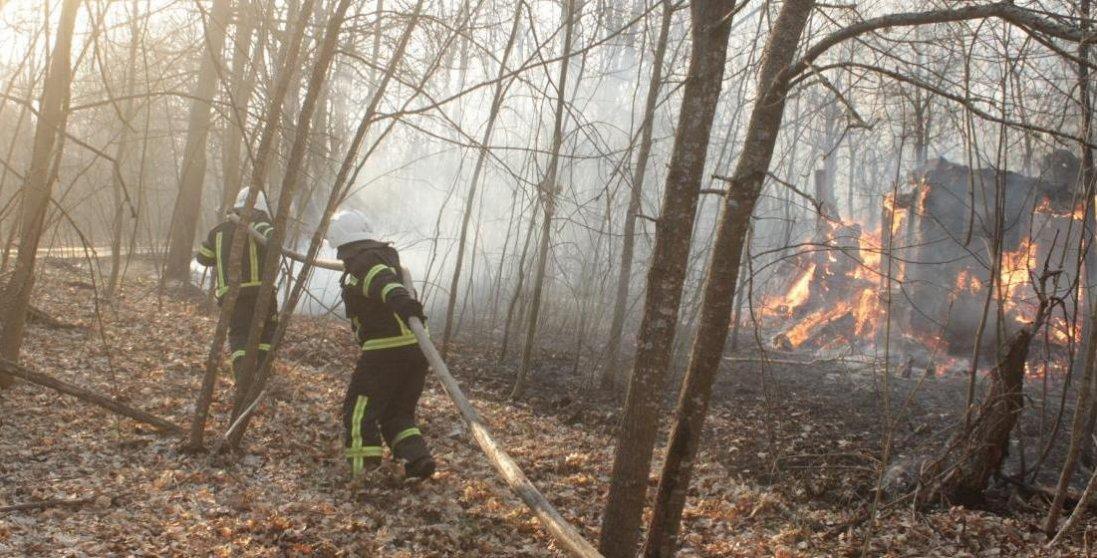 Пожежу в Чорнобилі загасили аж на третій день
