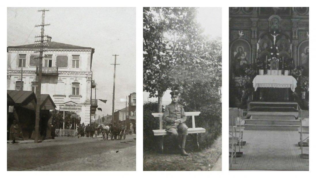 Ковель 100 років тому на ретрофото