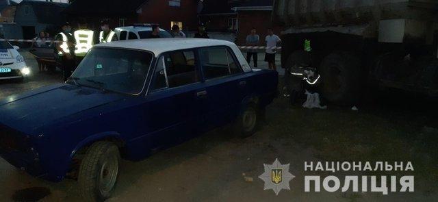 Автомобіль заглух / Фото Нацполіції