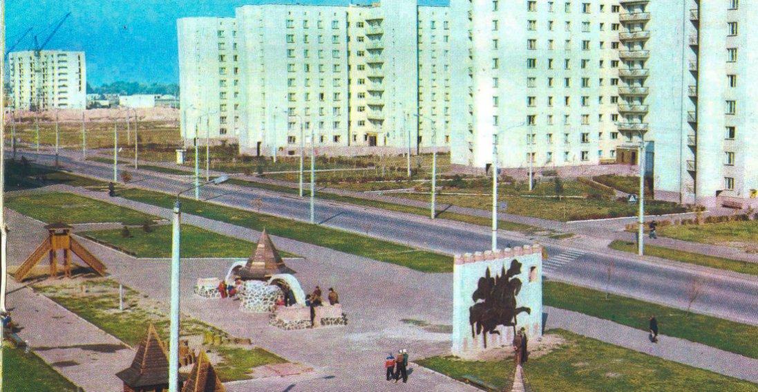 Літо в Луцьку на фото 1984 року