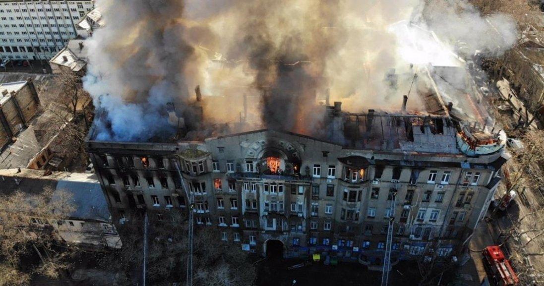 Пожежа в коледжі Одеси: справу передали до суду