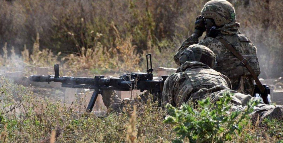 Бойовики в зоні ООС поранили одного українського військового