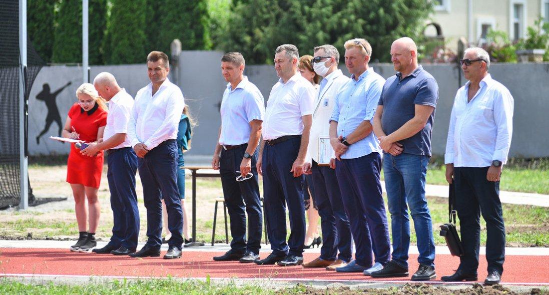 У Луцьку відкрили Центр легкоатлетичних метань: як це було