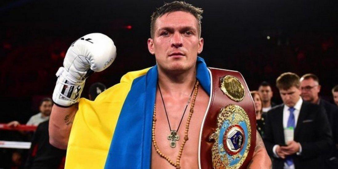 Усик вже другий в рейтинзі кращих боксерів