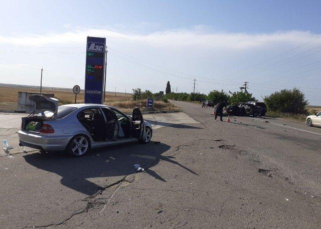 Аварія поблизусела Шелюгилобове / Фото ДСНС