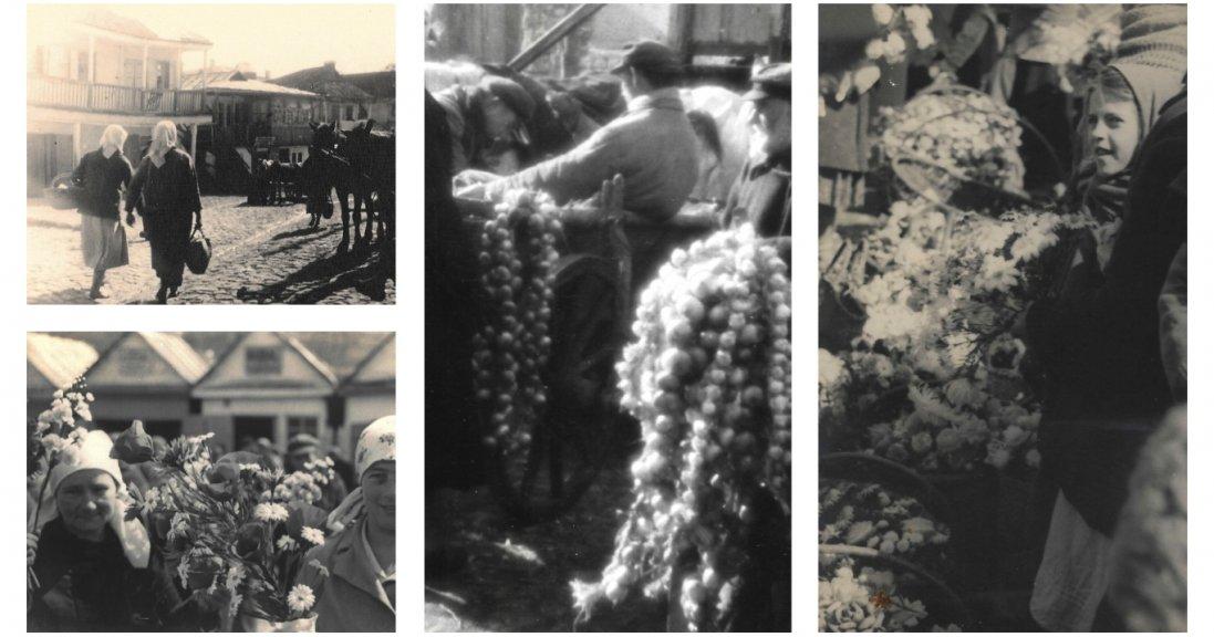Волинський базар на фото 90 років тому