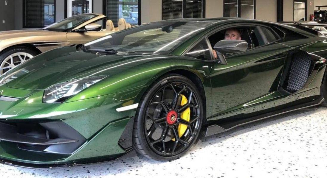 У Рівному зареєстрували Lamborghini Aventador SVJ за 15 мільйонів