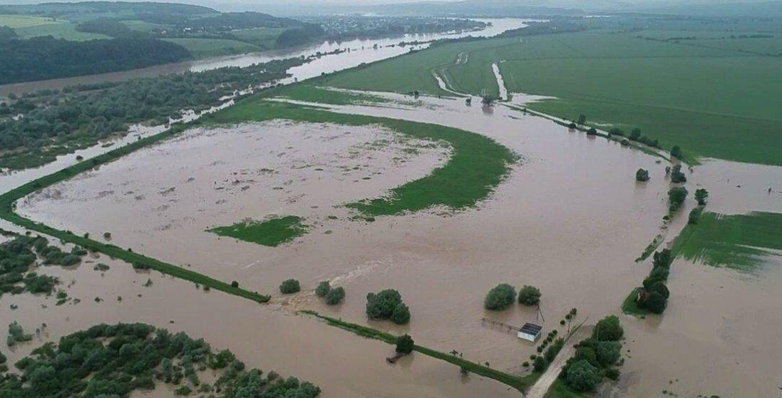 У 5 районах на Волині затопило тисячі гектарів землі