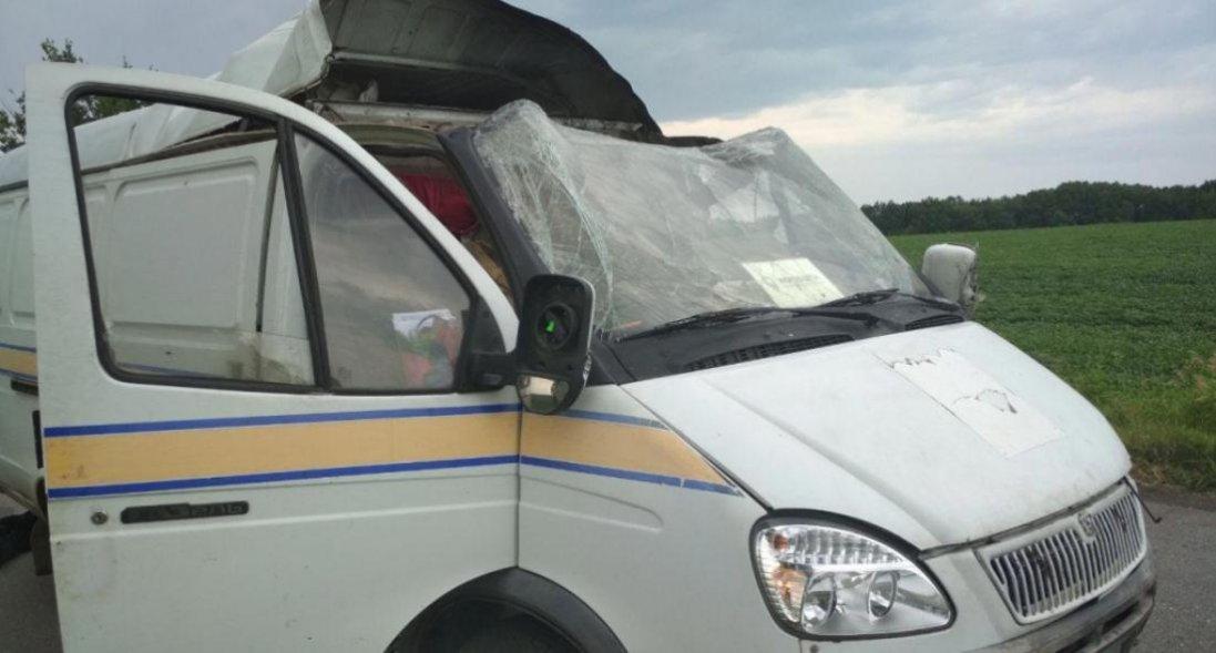 На Полтавщині підірвали авто «Укрпошти» та викрали 2,5 мільйона
