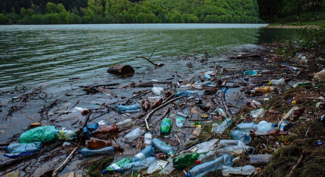 З Закарпаття в Угорщину: скаржаться на купи сміття, що несе з Тиси