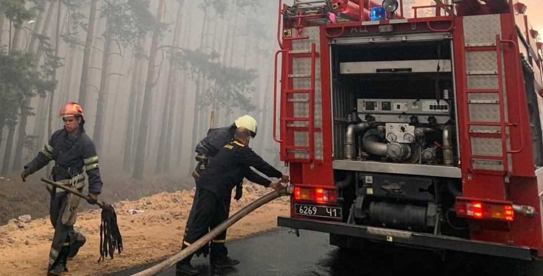 Пожежа на Луганщині: виявили 4 загиблих