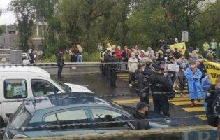 У Києві знову протести: поліція розганяє мітингувальників