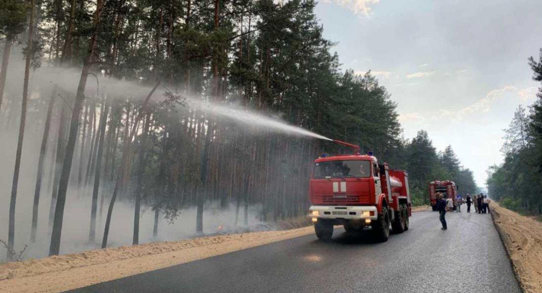 Масштабна пожежа на Луганщині: відкрили «кримінал»