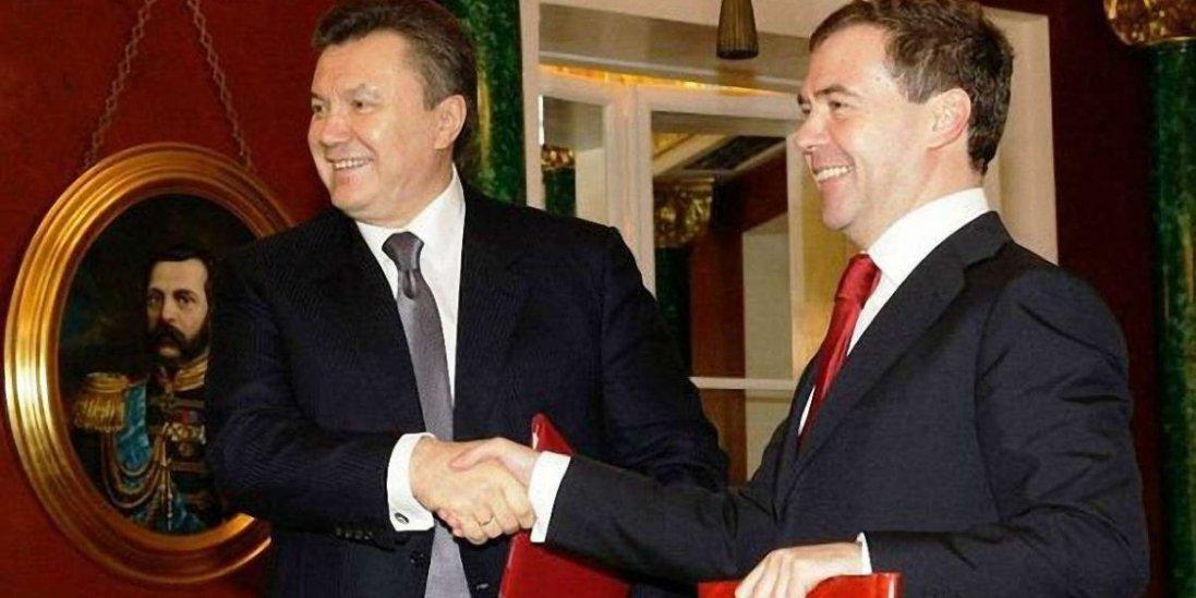 Янукович своє 70-річчя відсвяткував з Медведєвим, – ЗМІ