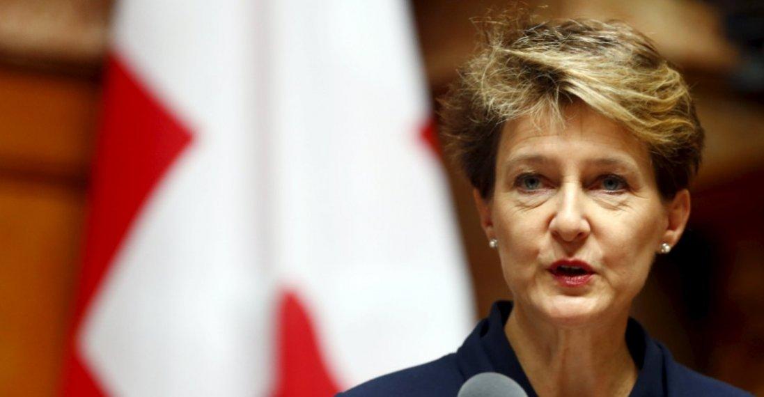 Що робитиме президентка Швейцарії в Україні