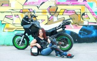 Мотоцикл, як стиль життя, або 200 по трасі з лучанкою Анною Лесько
