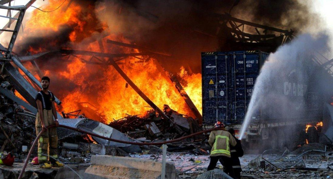 Україна відправить гуманітарну допомогу Лівану та направить туди рятувальників
