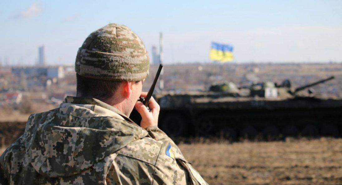 На Донбасі за минулу добу бойовики 8 разів обстріляли позиції Об'єднаних сил