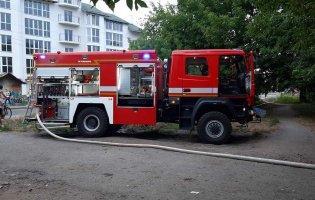 У Луцьку - вечірня пожежа