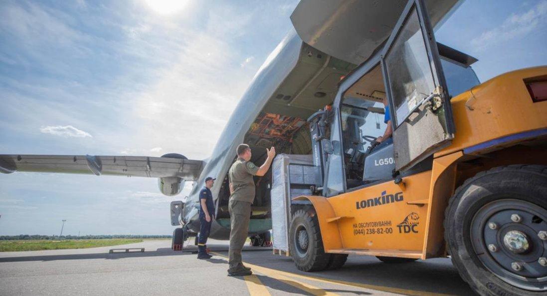 Україна відправила Лівану п'ять тонн гуманітарної допомоги