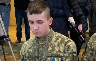 Вперше в Україні 17-річний юнак отримав орден «За мужність»