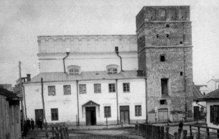 Єврейська синагога в Луцьку на столітніх фото