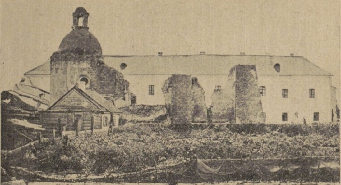Братська церква в Луцьку на ретрофото
