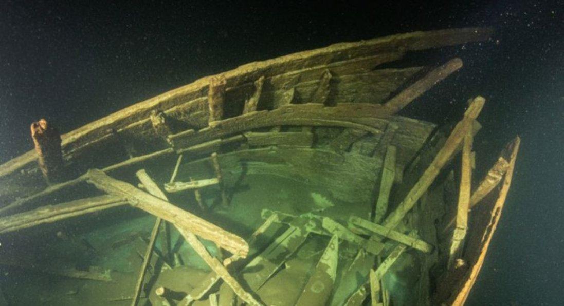 У Балтійському морі знайшли корабель, якому близько 400 років