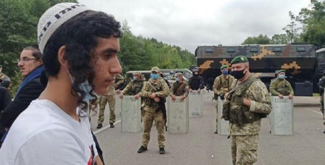 Затримали групу хасидів, які намагалися прорватися в Україну
