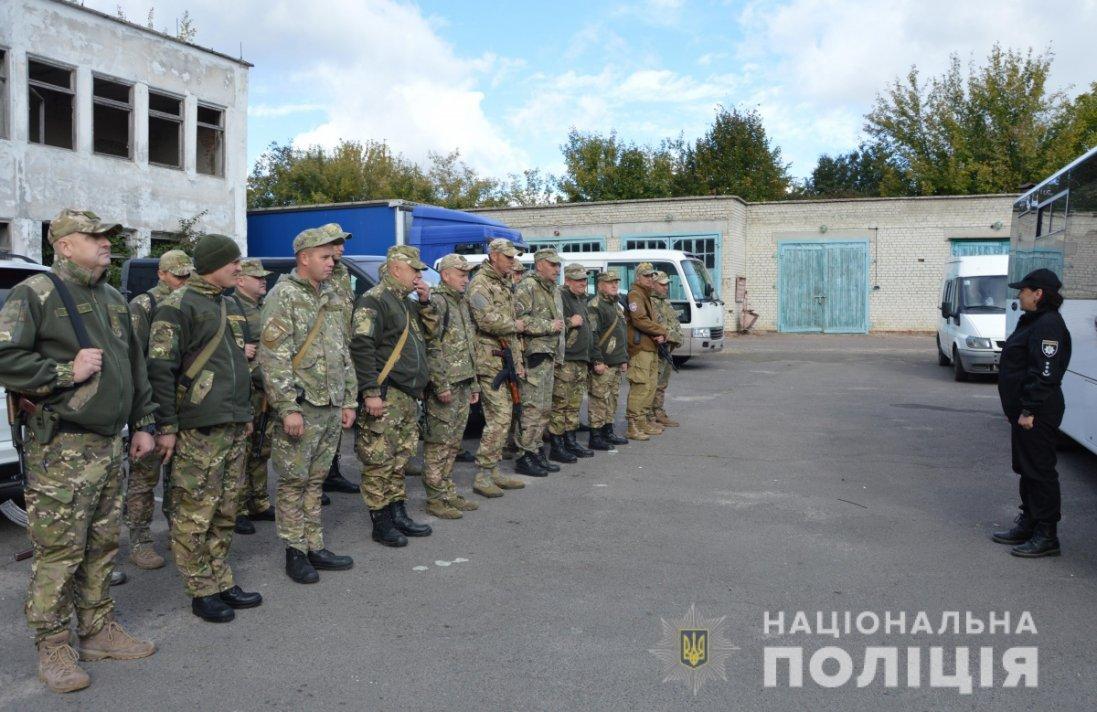Волинські поліцейські прибули в зону ООС