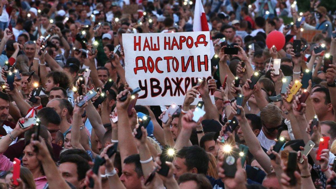 Скільки справ відкрили на мирних демонстрантів в Білорусі
