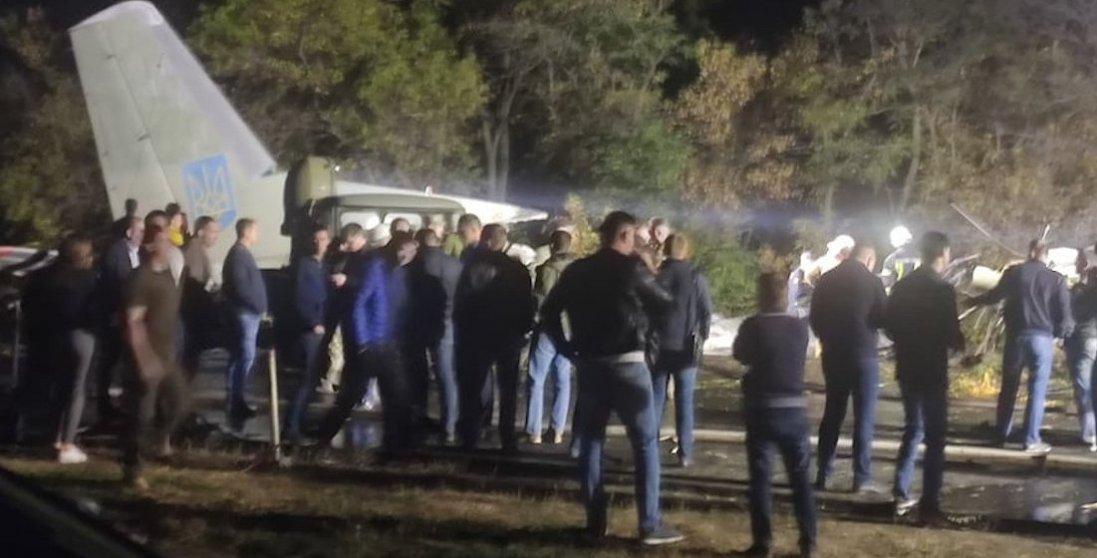 На Харківщині розбився військовий літак: деталі трагедії