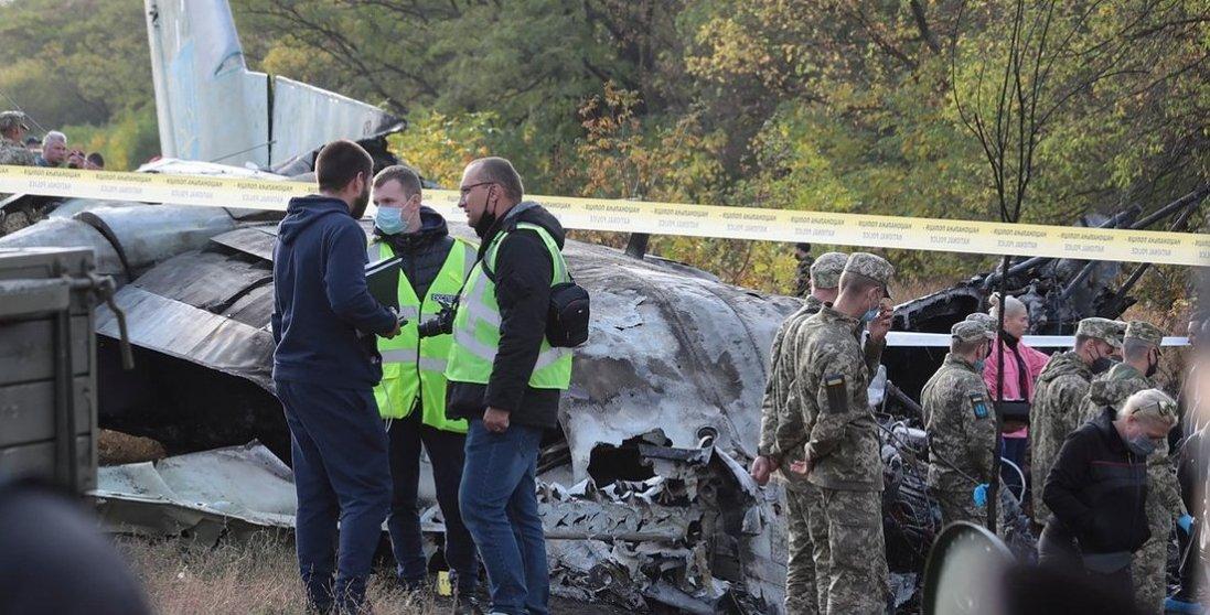 Командир літака Ан-26 повідомляв про несправність двигуна