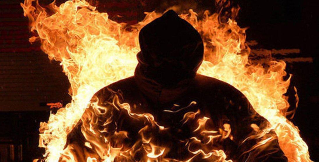 На Тернопільщині чоловік підпалив себе через пенсію