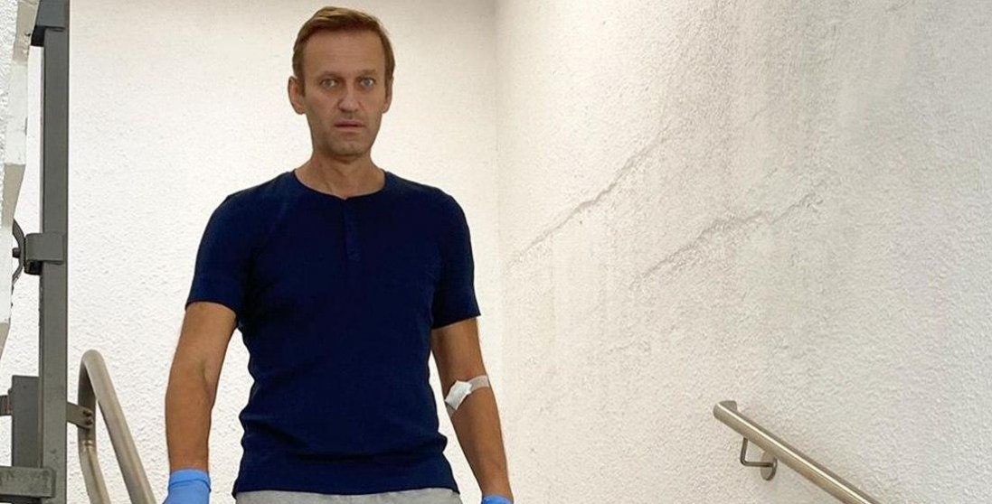 Навальний розповів, як «Новачок» потрапив в його організм
