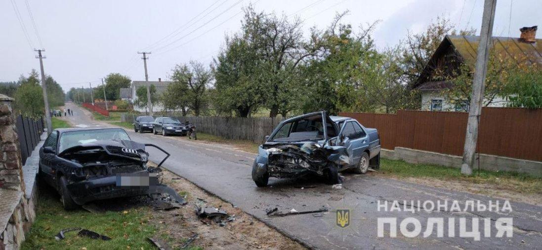 На Рівненщині 14-річний хлопець влаштував ДТП: постраждали четверо людей