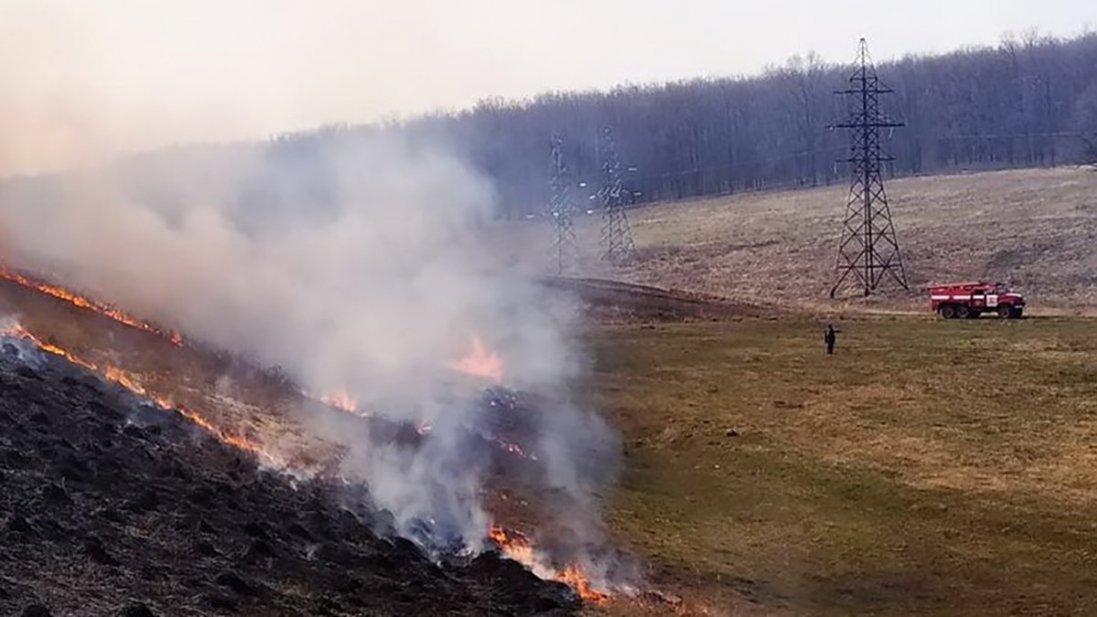 На Луганщині врешті загасили пожежу