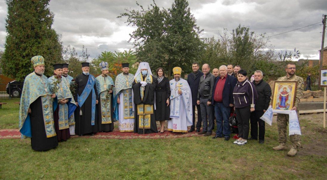 У Княгининку на Покрову заклали будівництво центру для молоді
