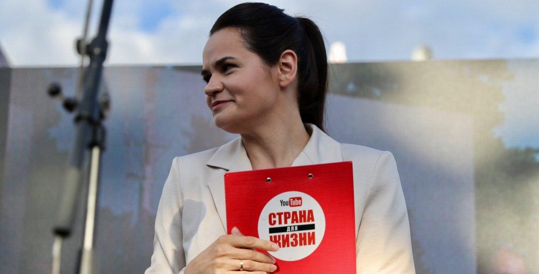 Тіхановська закликала силовиків до кінця жовтня перейти на сторону народу