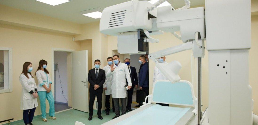 «У нас є завдання – зробити п'ять медичних містечок по Україні», - Зеленський