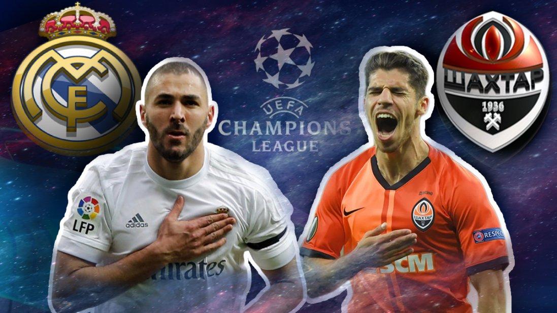 «Шахтар» забив «Реалу» три голи за тайм