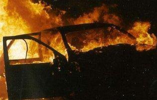 На Волині за добу згоріли два автомобілі