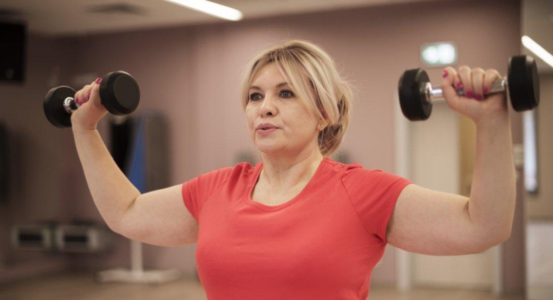 Навіть у поважному віці вкрай важливо підкачувати м'язи!