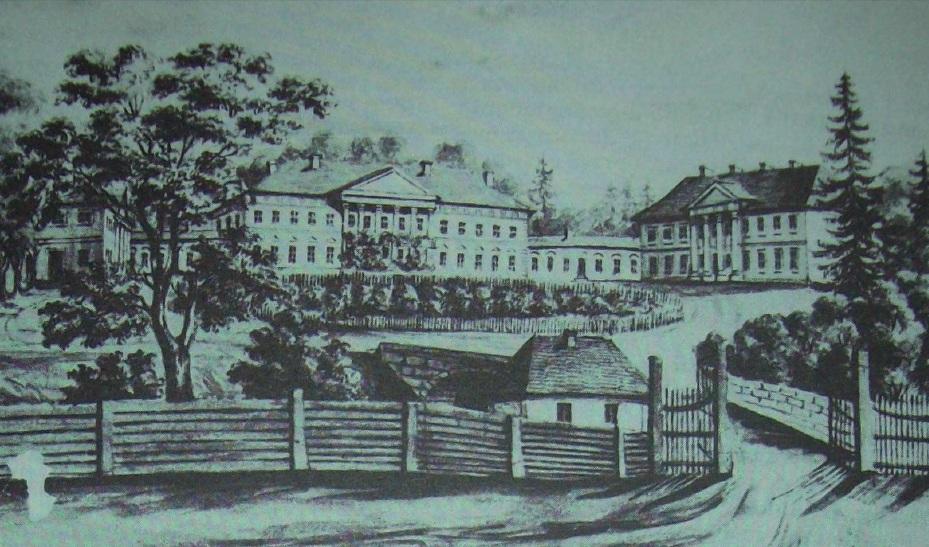 Палац в с. Селець, ХІХ ст. Автор Наполеон Орда.