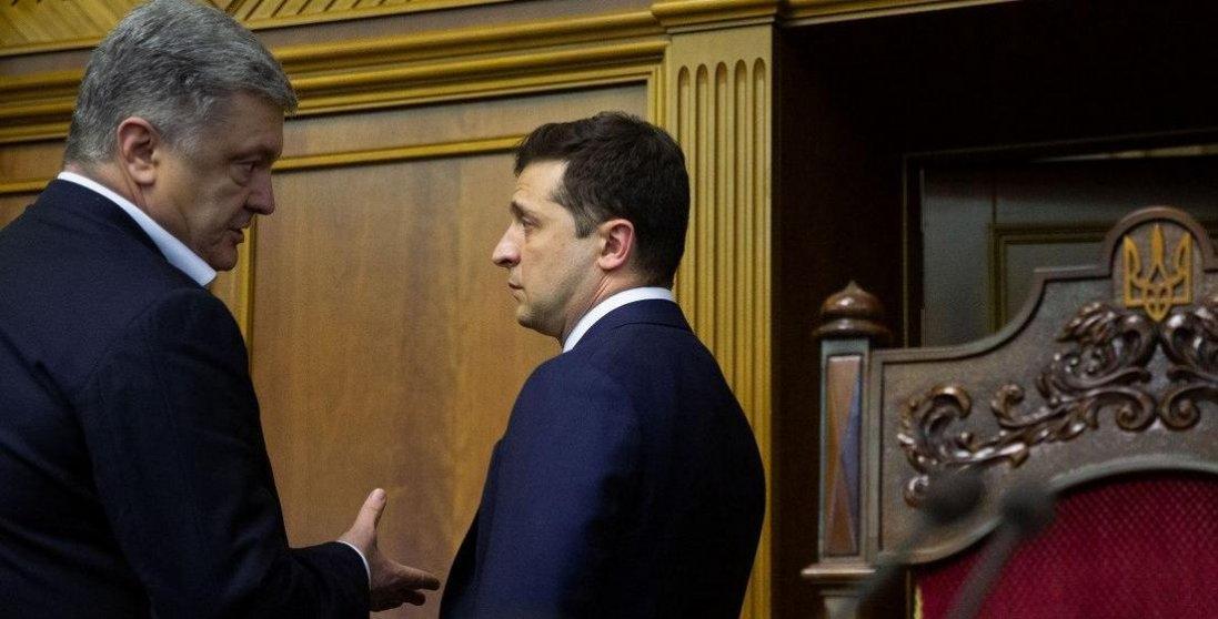 Зеленський погрожує Порошенку штрафами